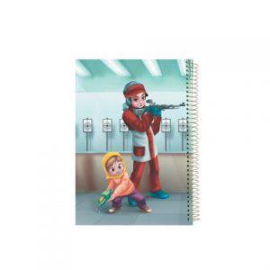 دفتر 100برگ بچه های اسمانی
